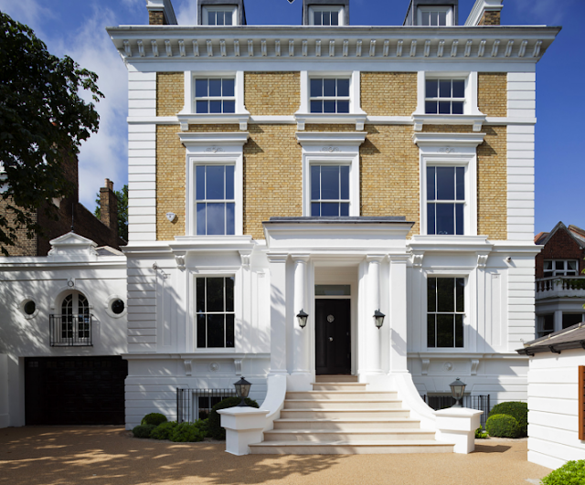 Home in London's Clapham suburb