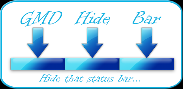 GMD Hide Bar ★ root v1.0