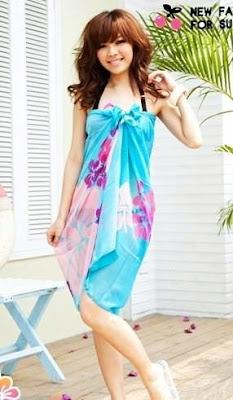 scarf as sarong