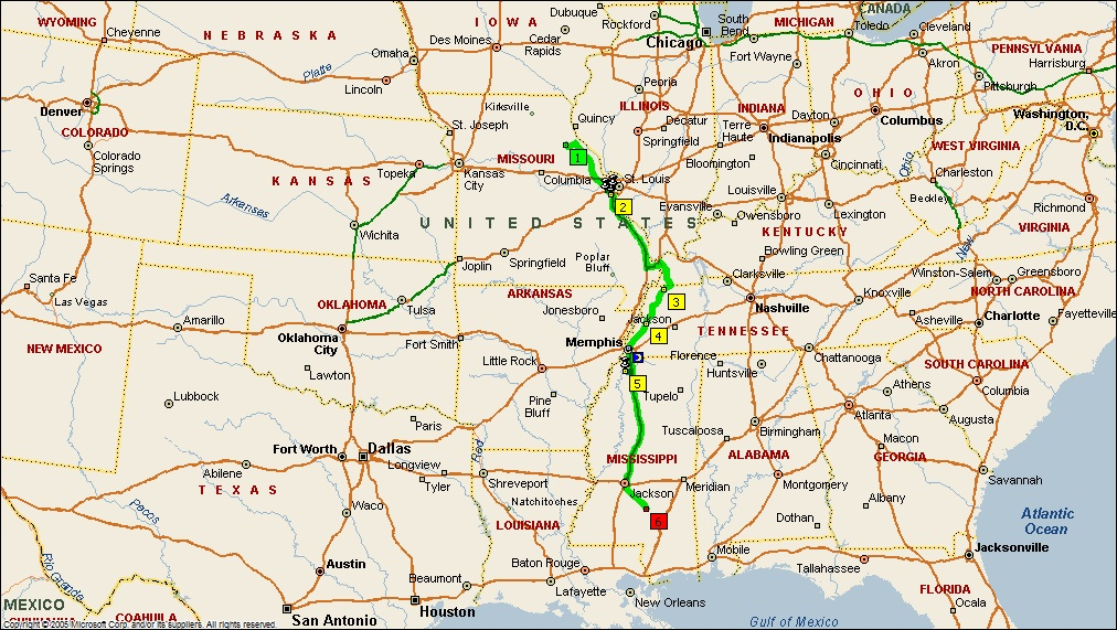 Roving Reports By Doug P 2011 32 Missouri To Mississippi