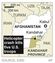 Helicopter Crash Afghanistan