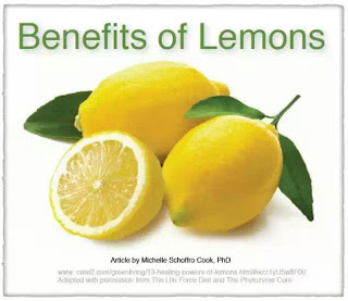 Lemon Benefits for Health