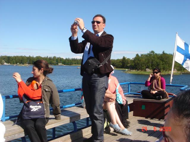 Ms TIIRA cruising in Kvarken Archipelago,Finland