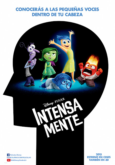 Cartel Disney Pixar Intensamente