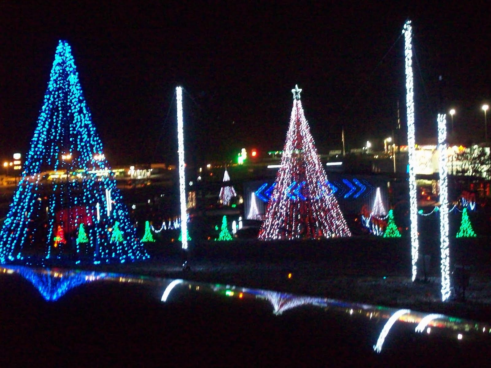 Youve Been Reviewed: Shadracks Christmas Wonderland lights exit 407