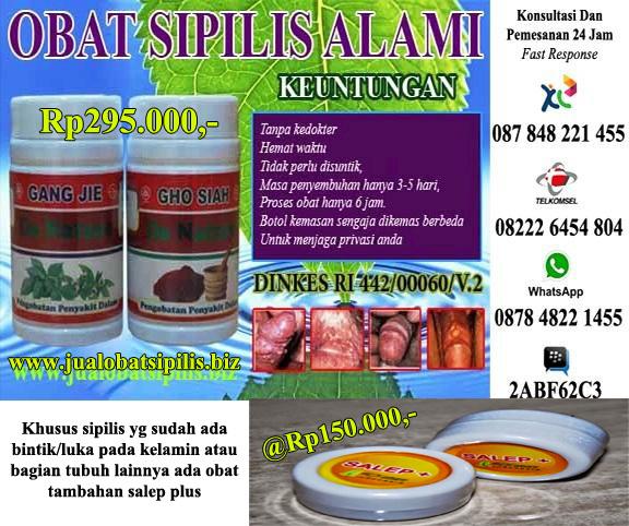 Toko Online Obat Penyakit Sipilis