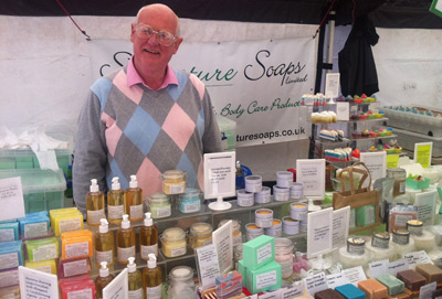 Bolton Love Your Local Market - Brian from Signature Soaps