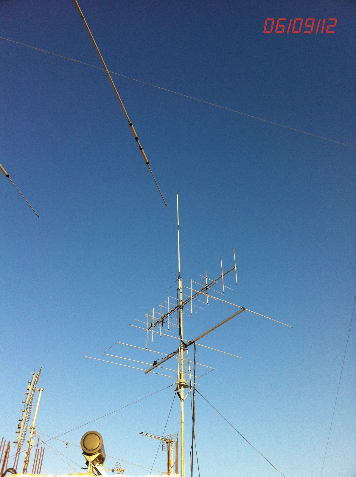 Apologise, but, Amateur antenna system