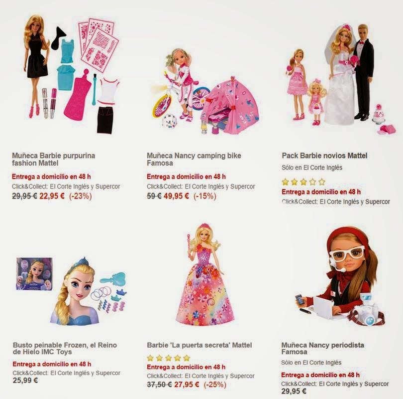 Muñecas ECI Navidad 2014