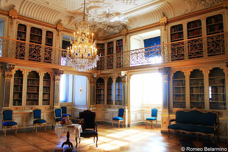 Christiansborg Palace Library, Copenhagen, Denmark