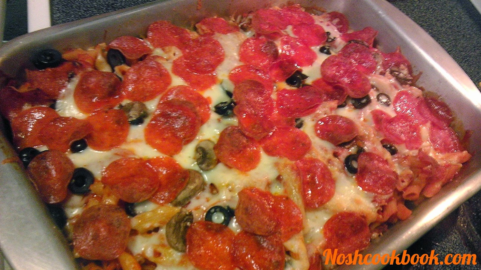 Pepperoni Pizza Casserole Recipe — Dishmaps
