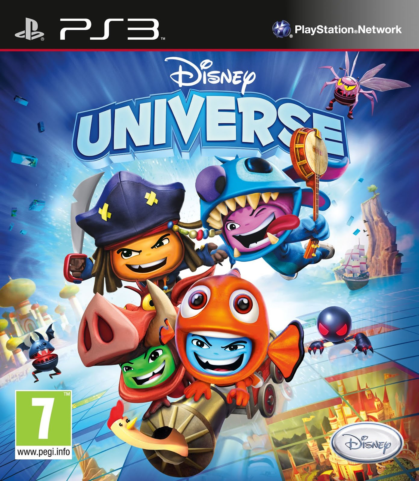 Disney Games For Ps3 : Ps disney universe hiero s iso games collection