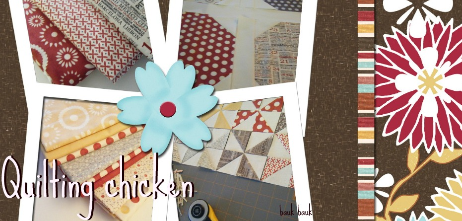 quilting chicken