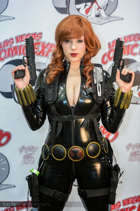 photo de cosplay de black widow