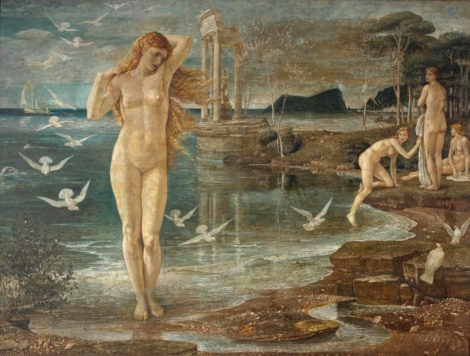 an analysis of the birth of venus art piece Arth paper - formal analysis of venus for art and the birth of venus from 1484 just a year afer botcelli had started birth of venus he began another piece.