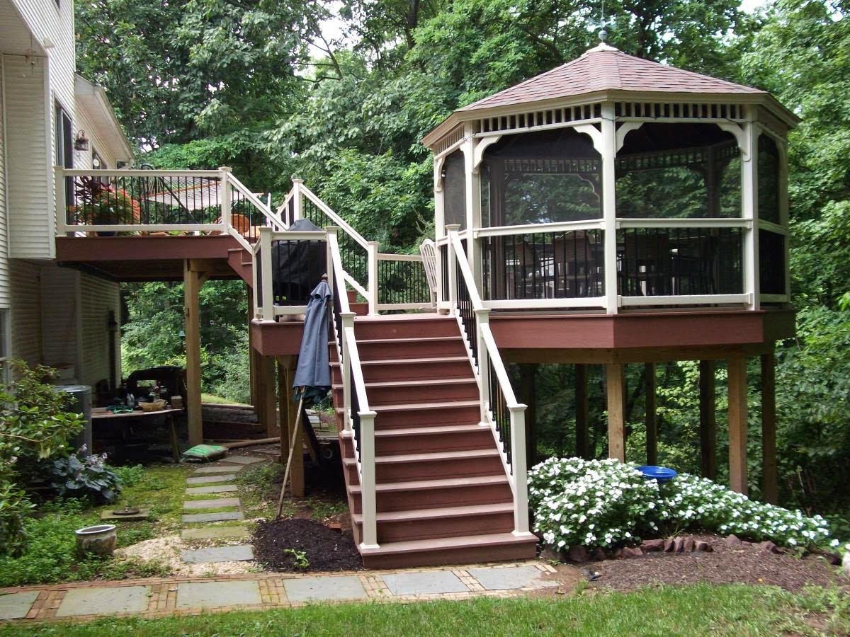 Taking ordinary to extraordinary for Decks and gazebos