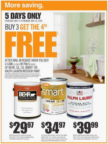 Home depot coupons in store only