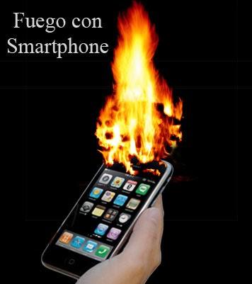 experimento casero de como hacer fuego con un smartphone