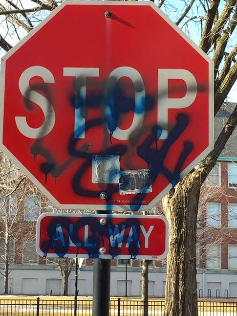 Cwb Chicago Painting The Town Cops Residents Eye Gang Tag Surge