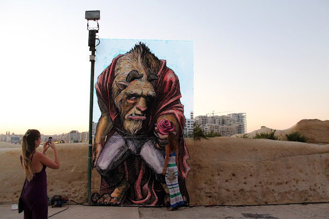 The Malta Street Art Festival recently took place on the streets of Valletta where WD was invited to paint a series of new pieces.