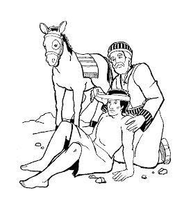 eu amo o ministério infantil parábolas de jesus o bom samaritano