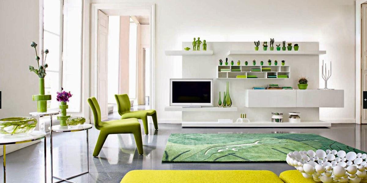 Top 28 Green Black And White Living Room Black White