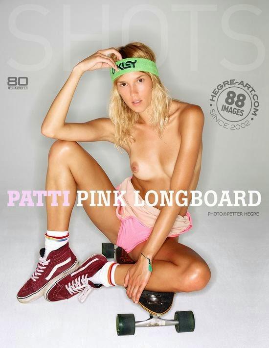 Hegre-Art0-19 Patti - Pink Long Board 09230