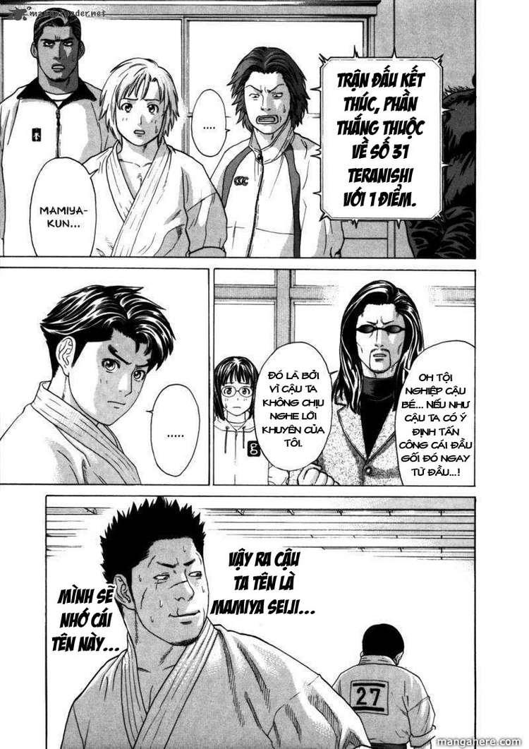 Karate Shoukoushi Kohinata Minoru chap 84 Trang 13