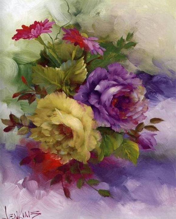 Gary Jenkins | American floral painter