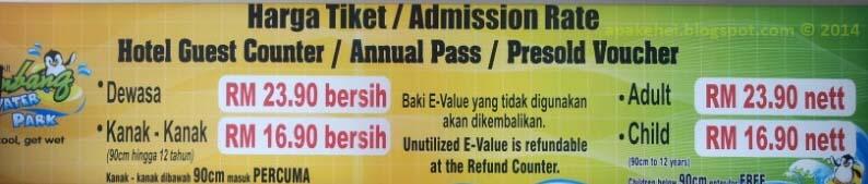Tiket Bukit Gambang Water Park
