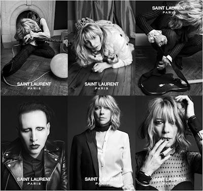 "Nueva campaña ""Saint Laurent Music Proyect by Hedi Slimane"""