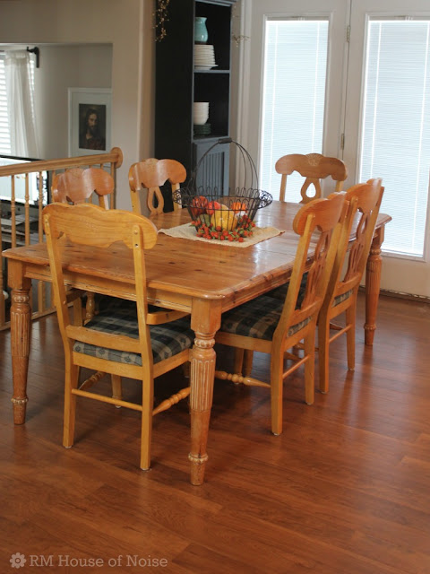 Vanished An Old Dining Room Table