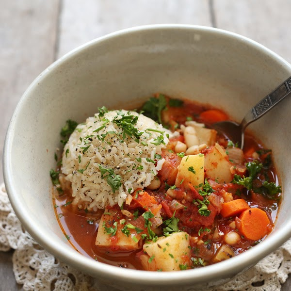 Flip Flops and AvocadosMinestrone Soup with Brown Rice