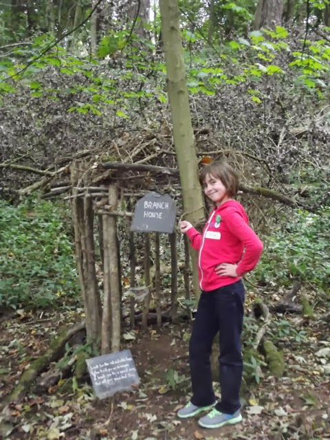 sizergh castle woodland play trail branch house