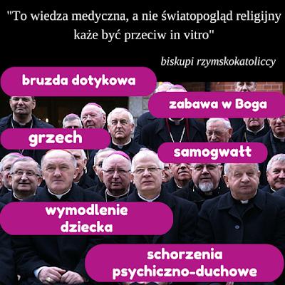 biskupi in vitro bruzda samogwałt