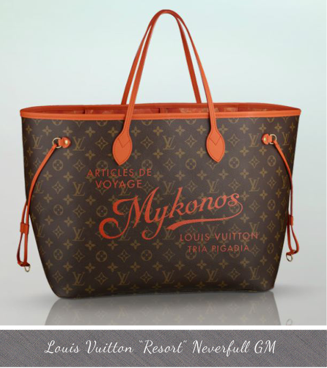 Louis Vuitton Resort Neverfull GM Mykonos