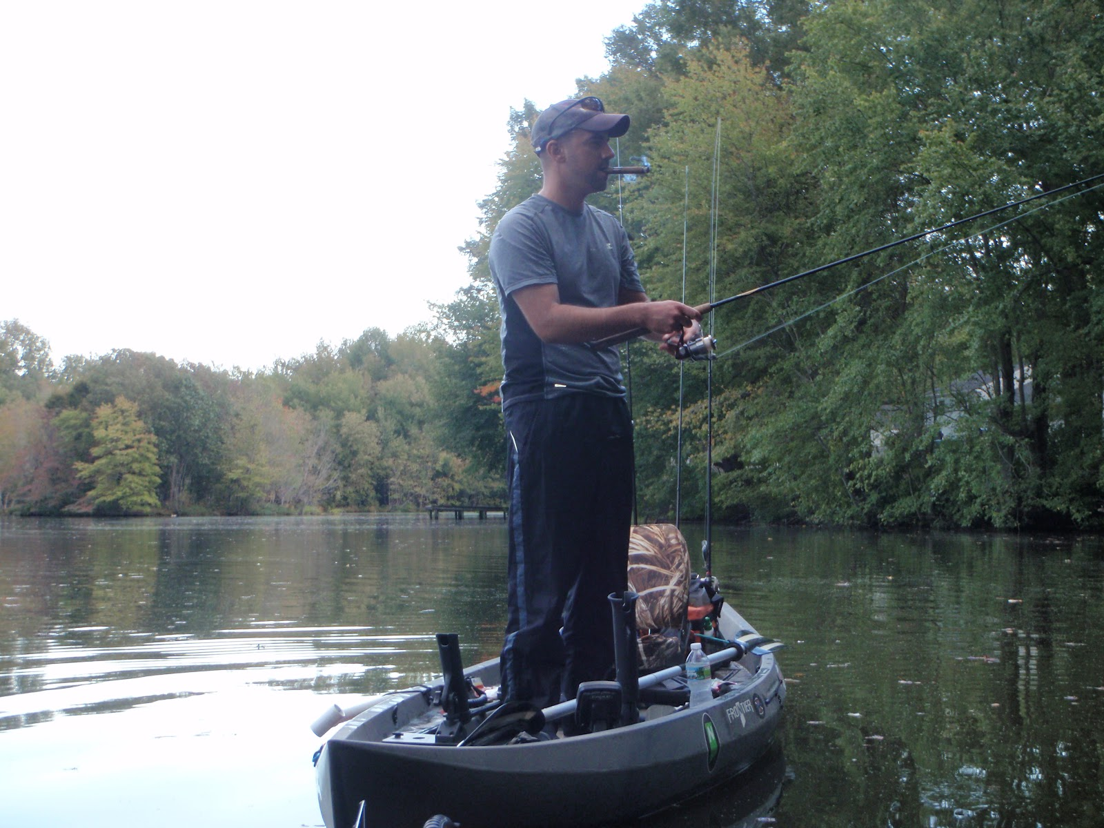 Kayak fishing in south jersey for Best fly fishing kayak
