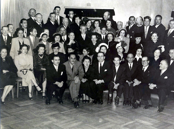 Socios  Club Científico Social Vegetariano Año 1950 Bogotá D. E.