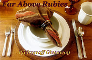 Far Above Rubies giveaway