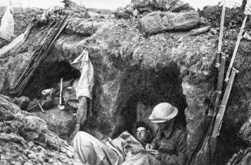 trench life They were forced to dig extensive trench and tunnels systems and to endure a semi-subterranean existence of cramped and filthy living and.
