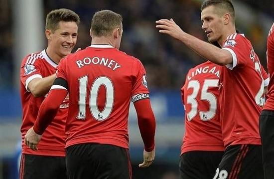 Everton 0 x 3 Manchester United - Premier League 2015/16