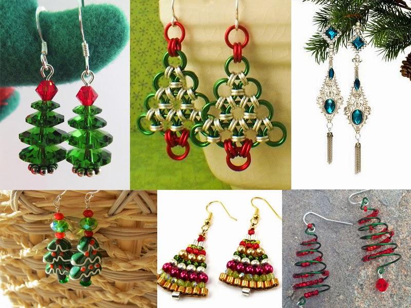 Beads Fashion Paradise Christmas Tree Ideas How To Make Beaded  - Make Christmas Tree Earrings