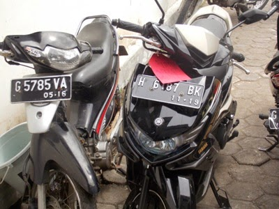 Polisi Berhasil Tangkap Penggondol Motor Milik Tukang Kebun