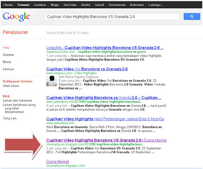 Cara Paling Ampuh Agar Postingan Blog Kita Cepat Terindex mesin pencari Google, Yahoo, dan MSN