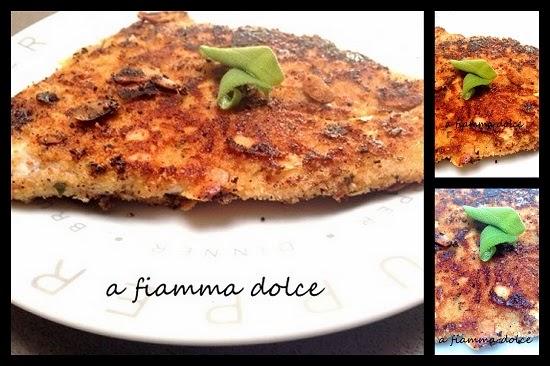 filetto di pesce persico impanato