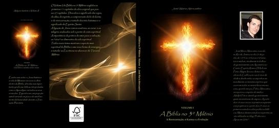 Livro A Bíblia no 3º Milênio volume I e II capa e contracapa