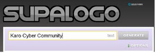 Membuat Logo di Situs Supalogo