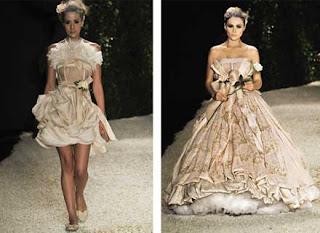 fotos de Vestidos Franceses