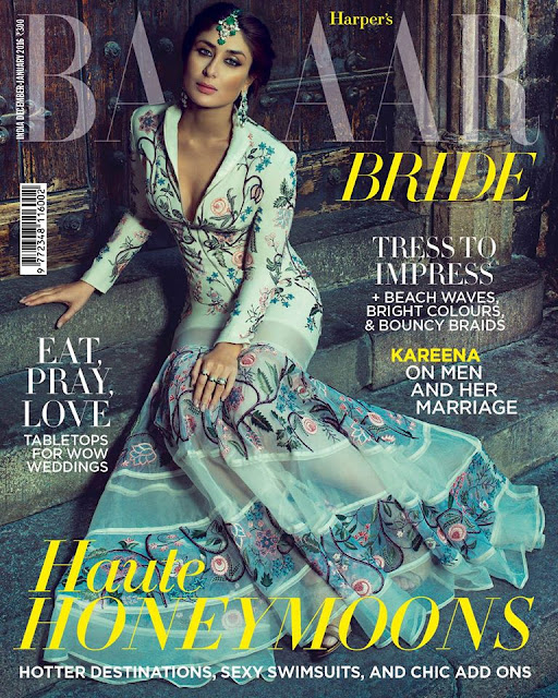 Kareena Kapoor on Bazaar Bride India December 2015