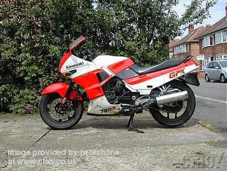 Ninja 750R GPX